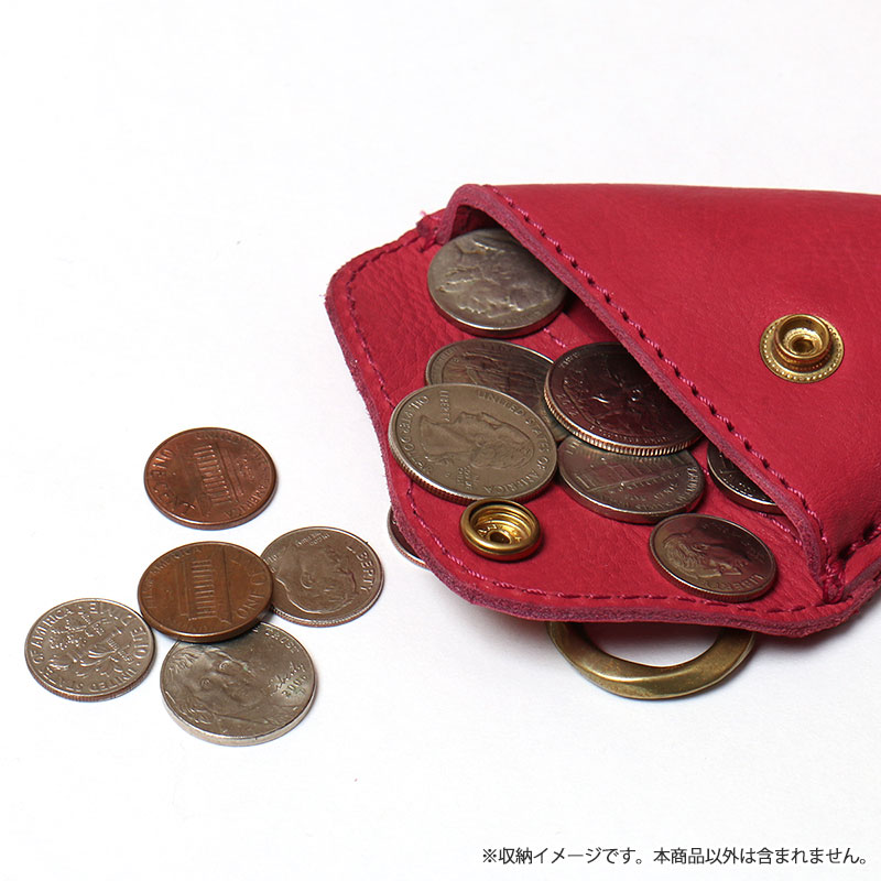 "<div align=""right"">Fin Desigh-Leather Wallet<br />Red ¥5,600+tax</div>"